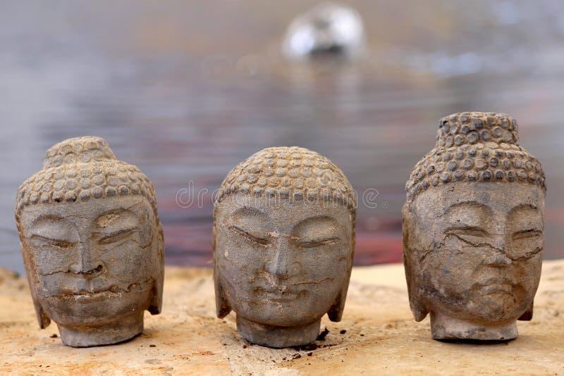 Garden Zen Statue Stock Photos