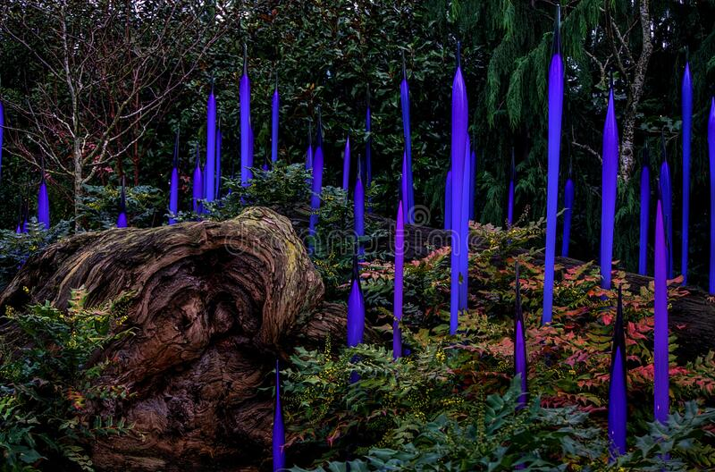 Garden1-chihuly Gallery-seattle 2016 Free Public Domain Cc0 Image