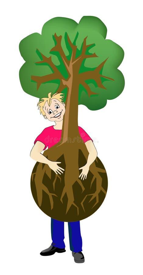 Download Gardener stock vector. Image of humus, flower, field - 11627436