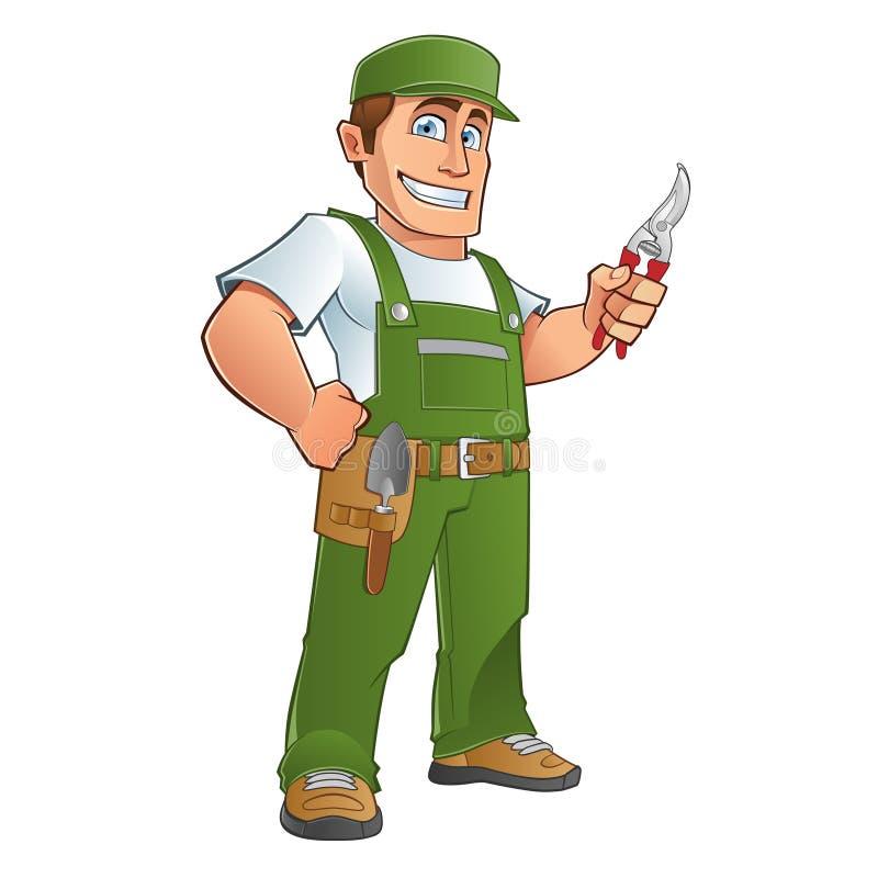 Download Gardener stock vector. Illustration of garden, tool, person - 33030147
