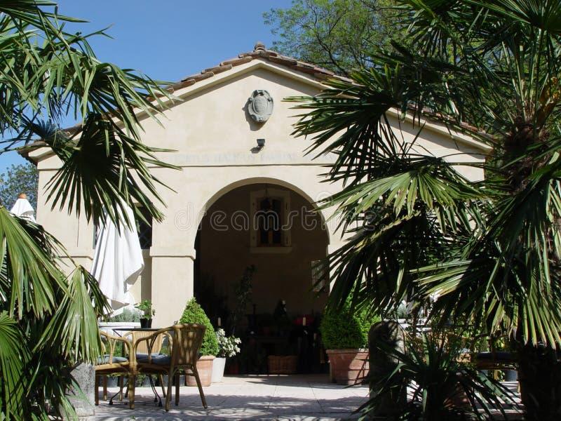 gardenhouse royaltyfri foto