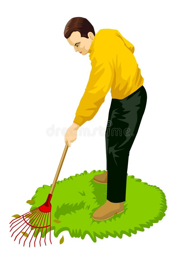 Download Gardening stock vector. Illustration of graphic, clean - 17559549