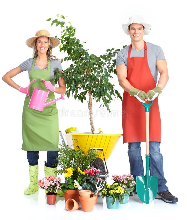Download Gardening stock image. Image of summer, background, people - 18545961