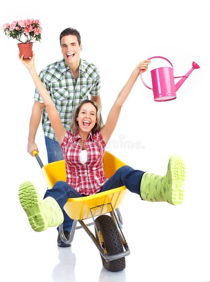 Download Gardening stock photo. Image of gardening, girl, background - 18551236