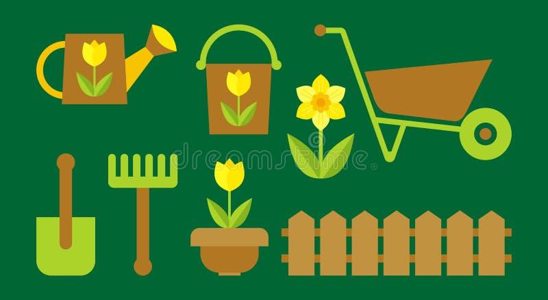 Download Gardening stock vector. Image of shovel, clip, illustration - 20109345
