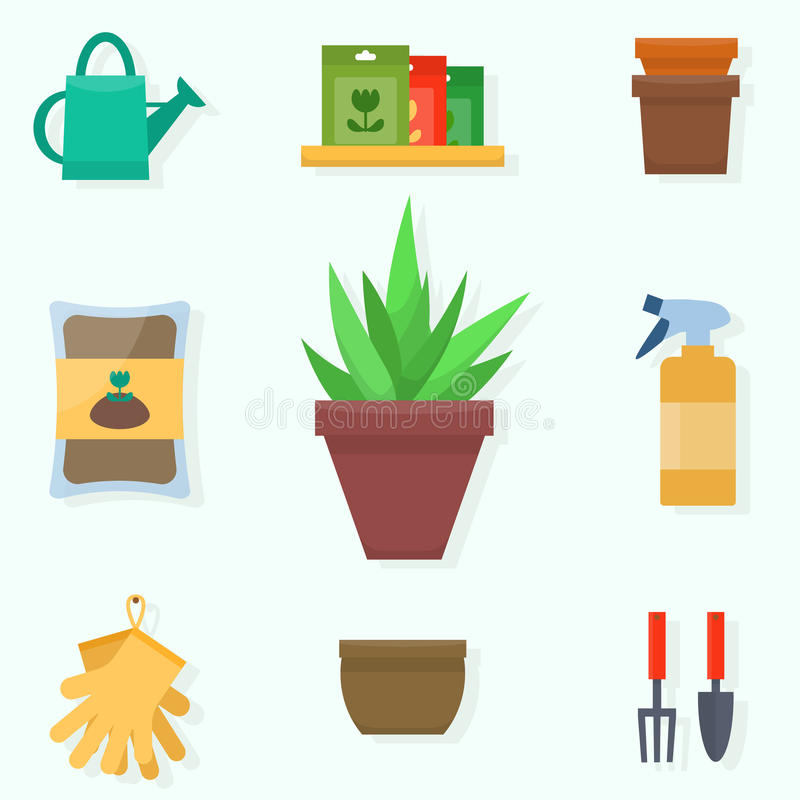 gardening stock abbildung