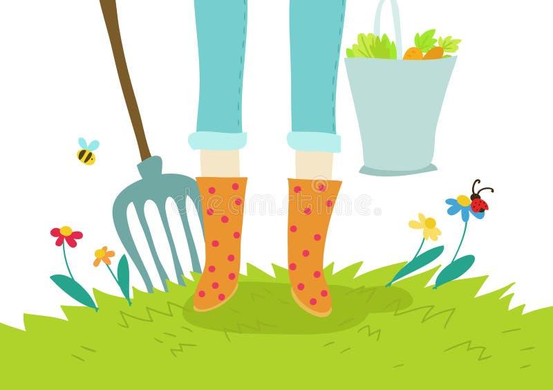 Download Gardening And Agricolture Illustration Concept Stock Illustration - Image: 24649605