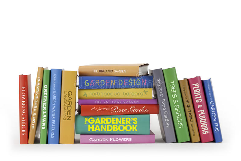 Download Gardening books stock image. Image of text, collection - 27518039
