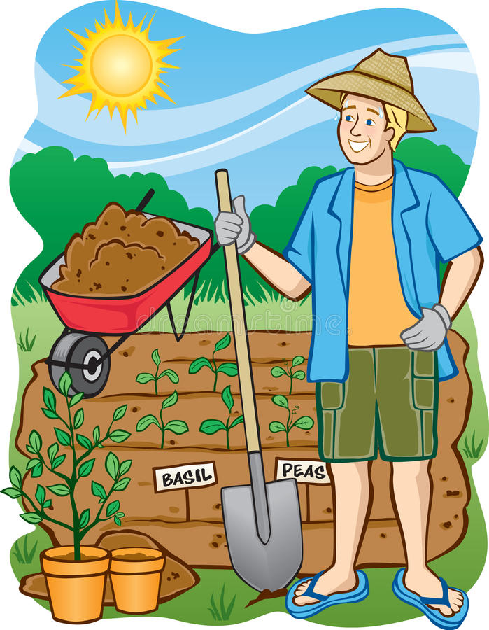 Для чего нужны мужики в огороде картинки