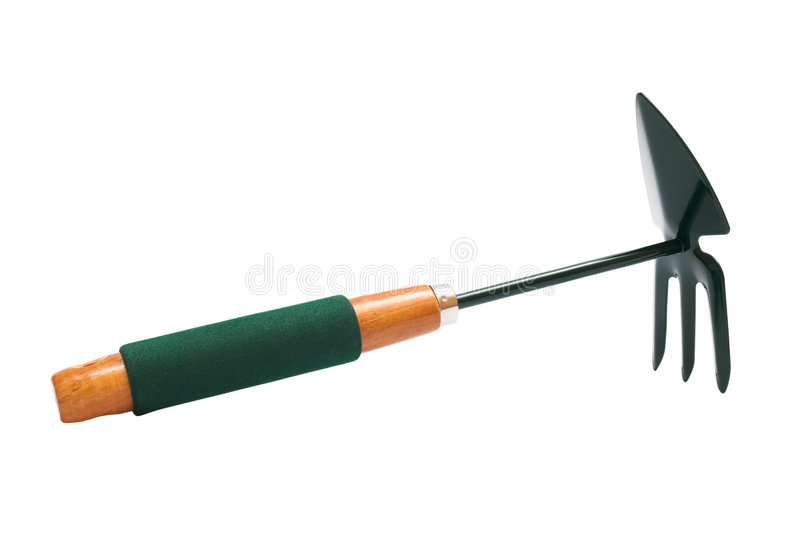 Gardening hoe royalty free stock images