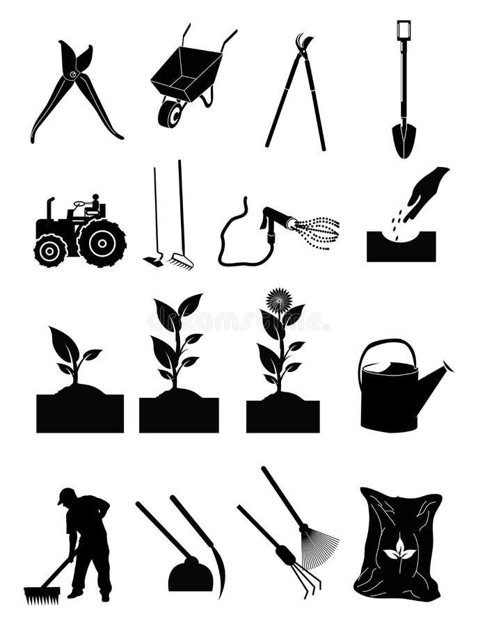 Gardening Icons vector illustration