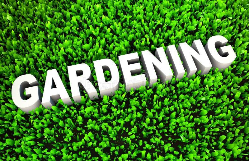 Download Gardening stock illustration. Illustration of gardener - 31422992