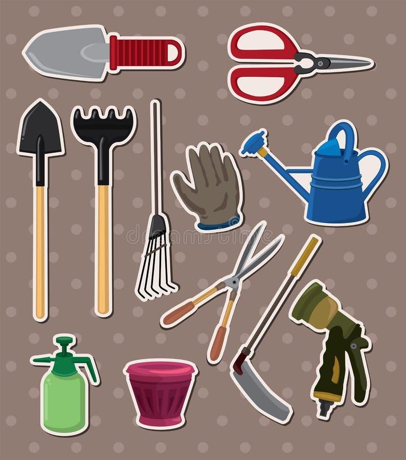 Download Gardening stickers stock vector. Illustration of illustration - 24698932