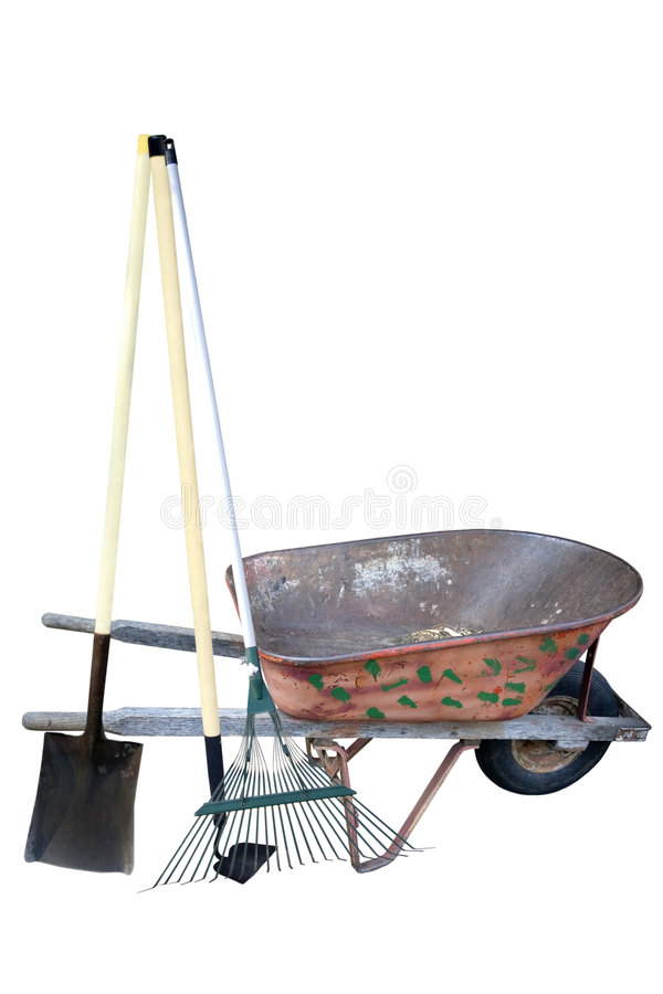 Gardening Supplies Royalty Free Stock Photography