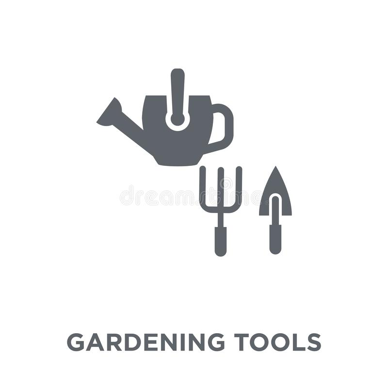 Gardening tools icon from Agriculture, Farming and Gardening col royalty free illustration