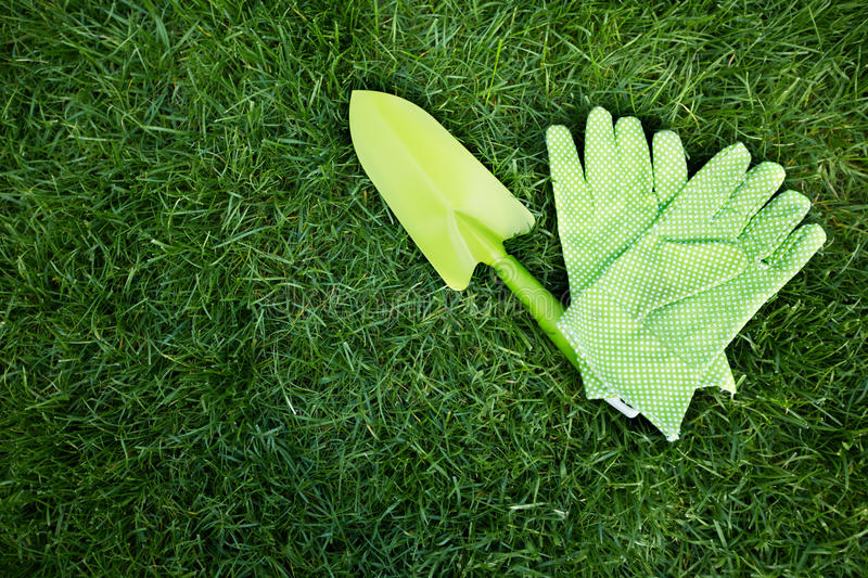 Gardening tools. stock images