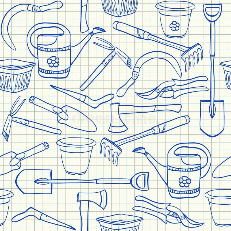 Download Gardening Tools Seamless Pattern Royalty Free Stock Photo - Image: 31239775