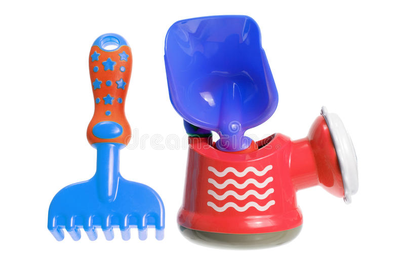Gardening Toys Royalty Free Stock Image