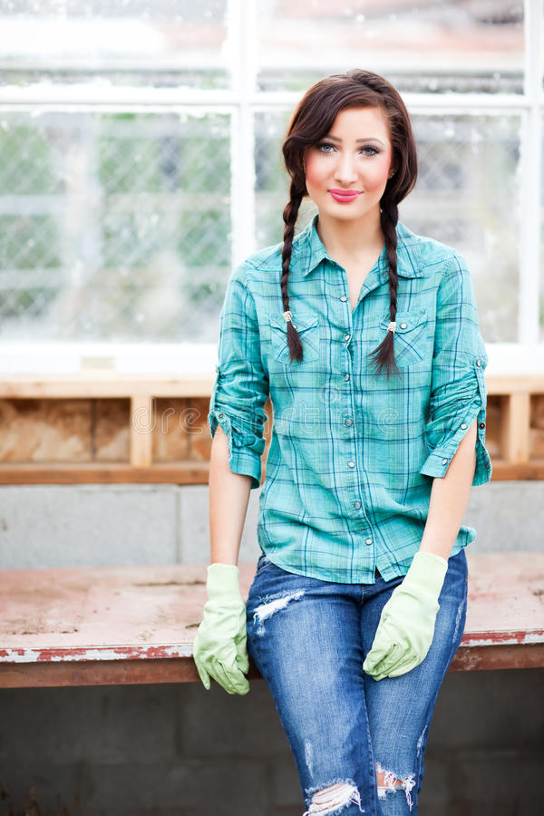 Download Gardening woman stock photo. Image of people, activity - 16547748