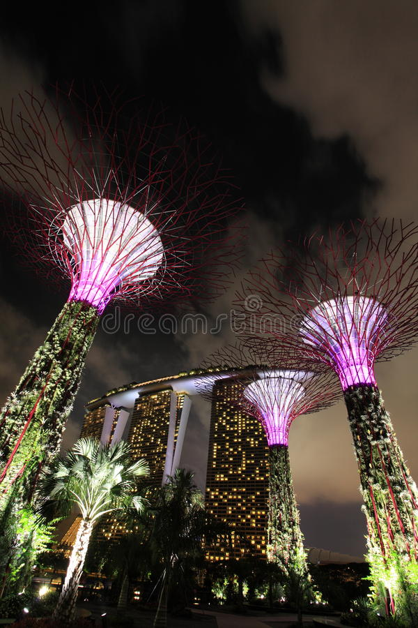 Download Gardens by the Bay editorial image. Image of unique, garden - 27983920