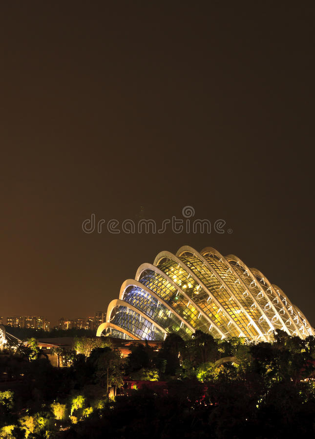 Gardens By The Bay Singapore Royalty Free Stock Photography