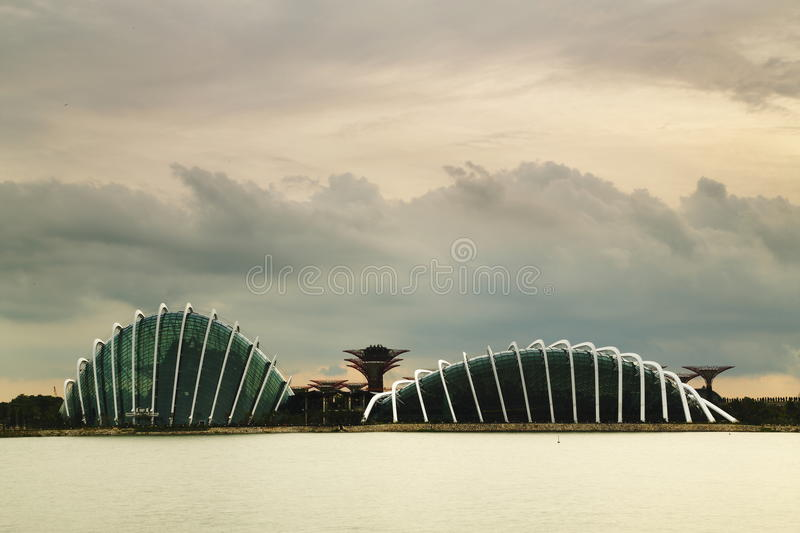 Gardens by the Bay Sunset