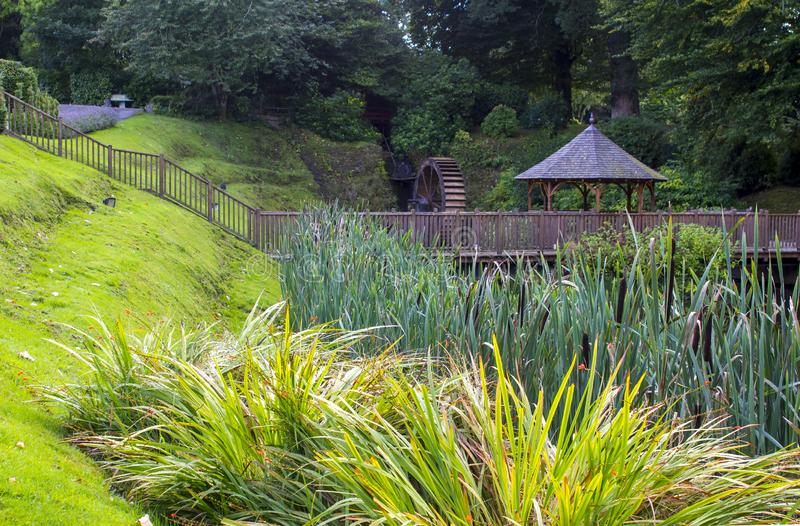 The Gardens at Beech Hill Country House Hotel in Londonderry stock photography