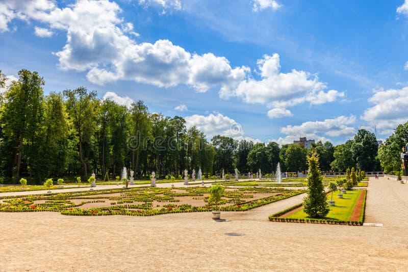 Gardens in Bialystok royalty free stock photos