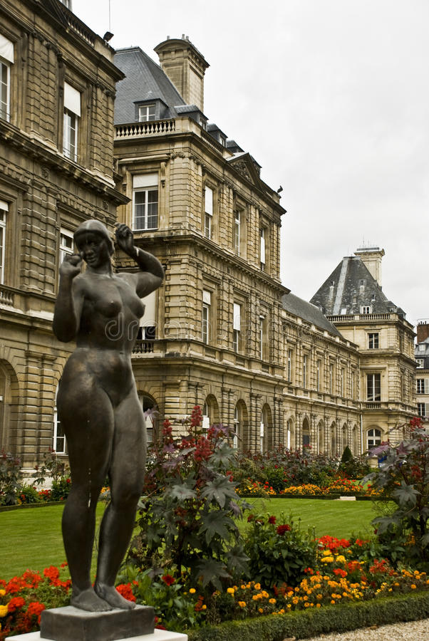 Download Gardens of luxembourg stock image. Image of plants, luxembourg - 21557513