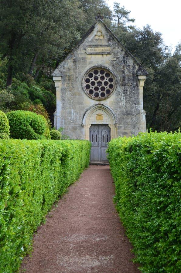 Gardens of Marqueyssac. The gardens of Marqueyssac in the Dordogne region of France royalty free stock photography