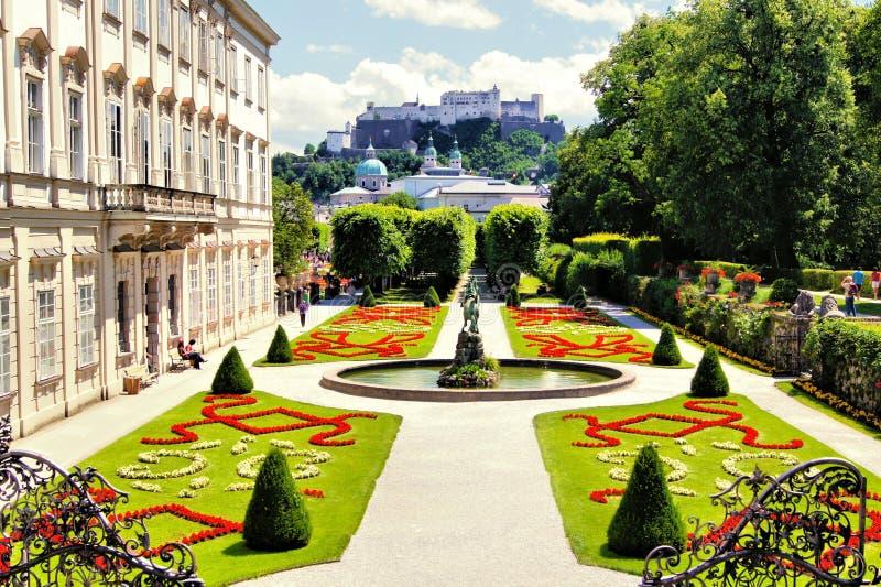 Download Gardens Of Salzburg, Austria Royalty Free Stock Photography - Image: 37213657