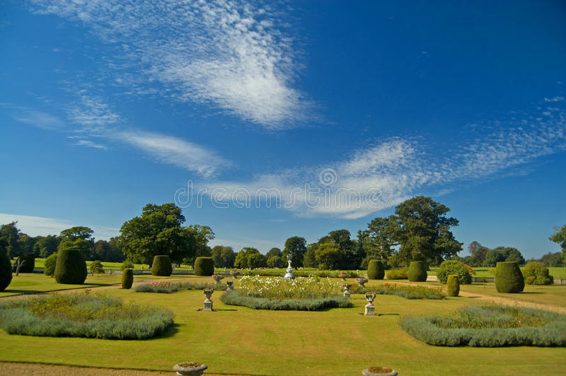 Gardens of somerleyton stock images