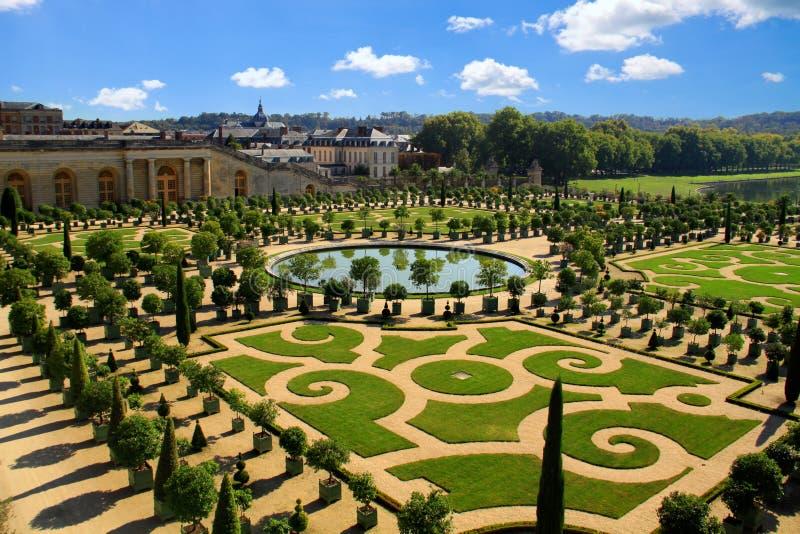 Gardens of Versailles stock photography