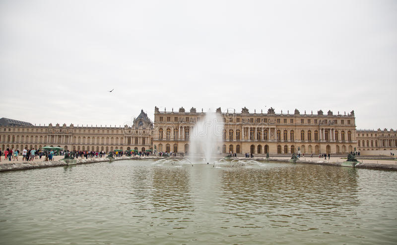Gardens of Versailles royalty free stock photo