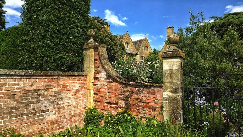 Gardens. The world famous Hidcote manor gardens in the English cotswolds cotswold Midlands uk gb design landscaped national trust tourism famous place placed royalty free stock photos