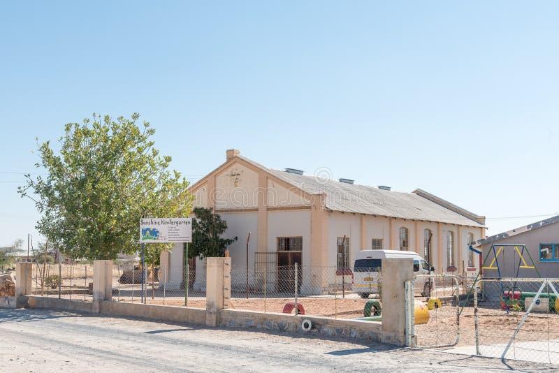 Garderie dans Karibib, dans la région d'Erongo de la Namibie images stock