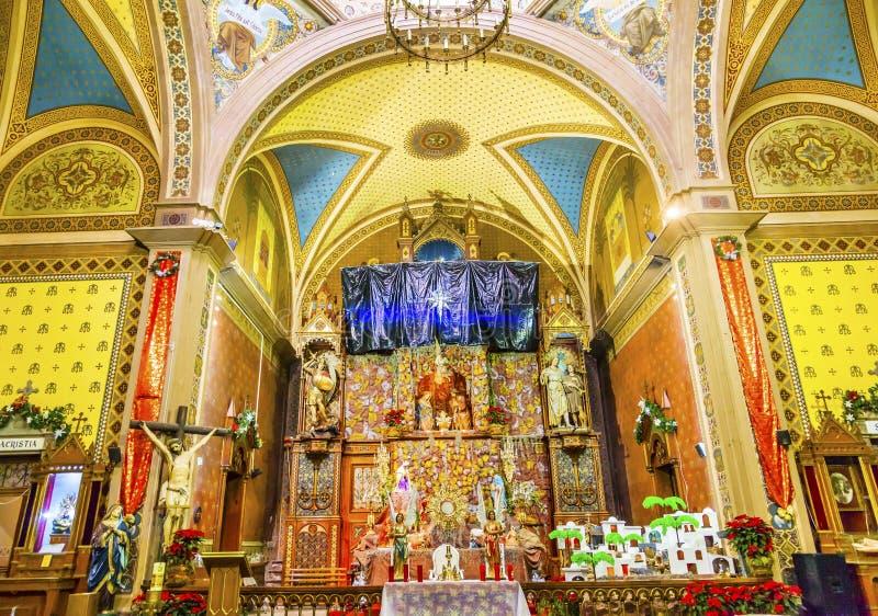 Garderie Templo De Belen Temple Belen Guanajuato Mexico d'autel photo libre de droits