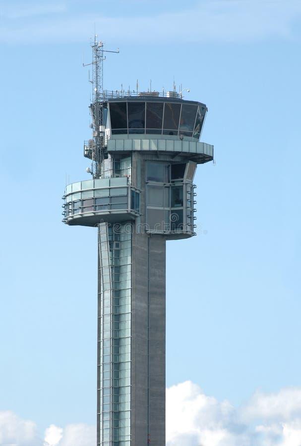 Gardermoen control tower stock photography