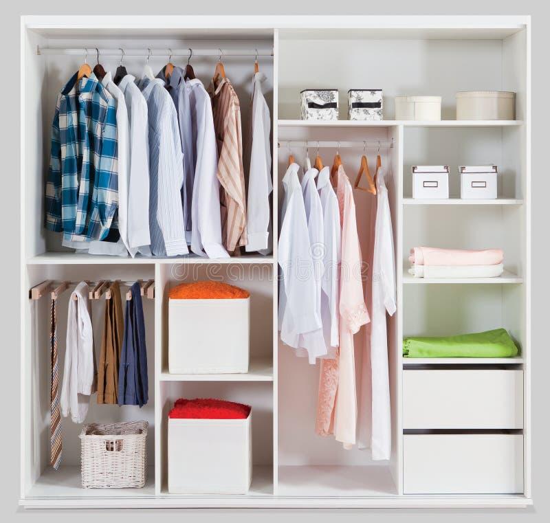 Garderob för hem royaltyfri foto