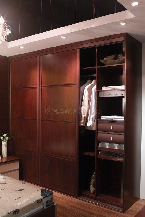 Garderobe royalty-vrije stock afbeelding