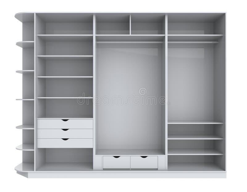 Garderobe vector illustratie