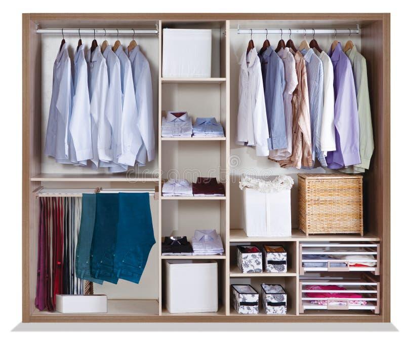 Garderobe voor huis royalty-vrije stock afbeeldingen
