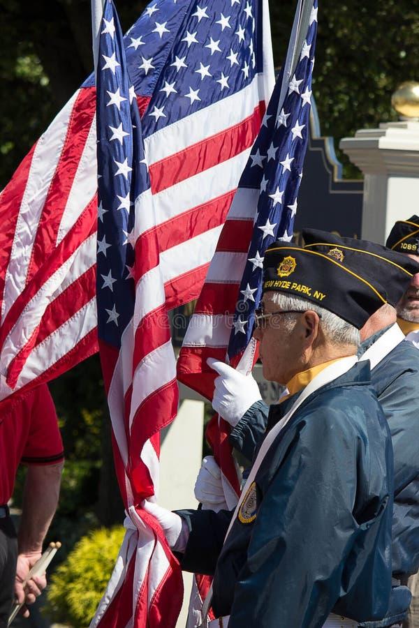 Gardes du drapeau image stock
