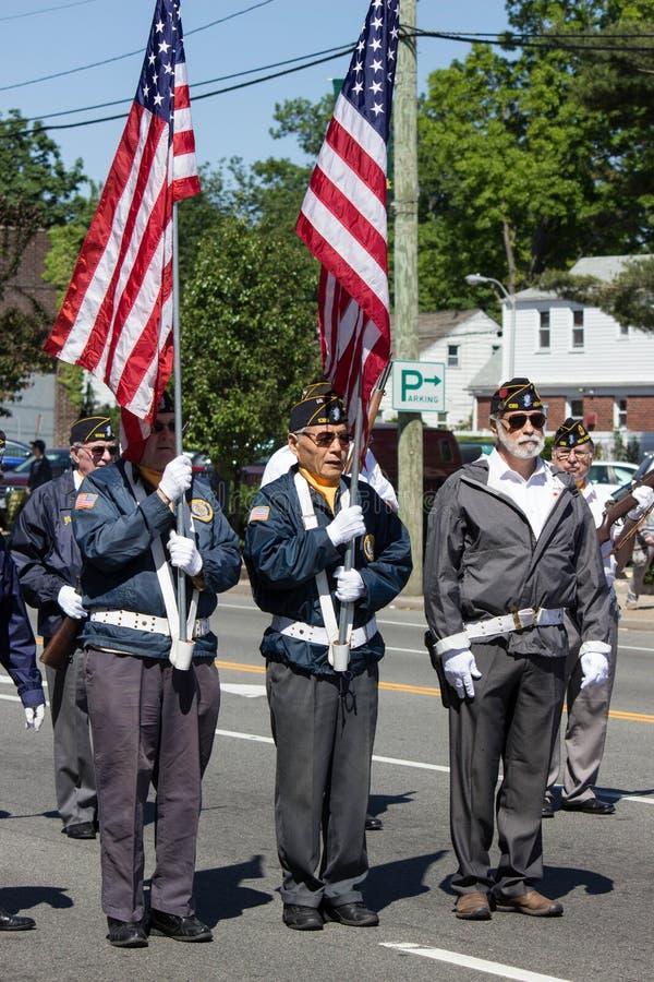 Gardes du drapeau images libres de droits