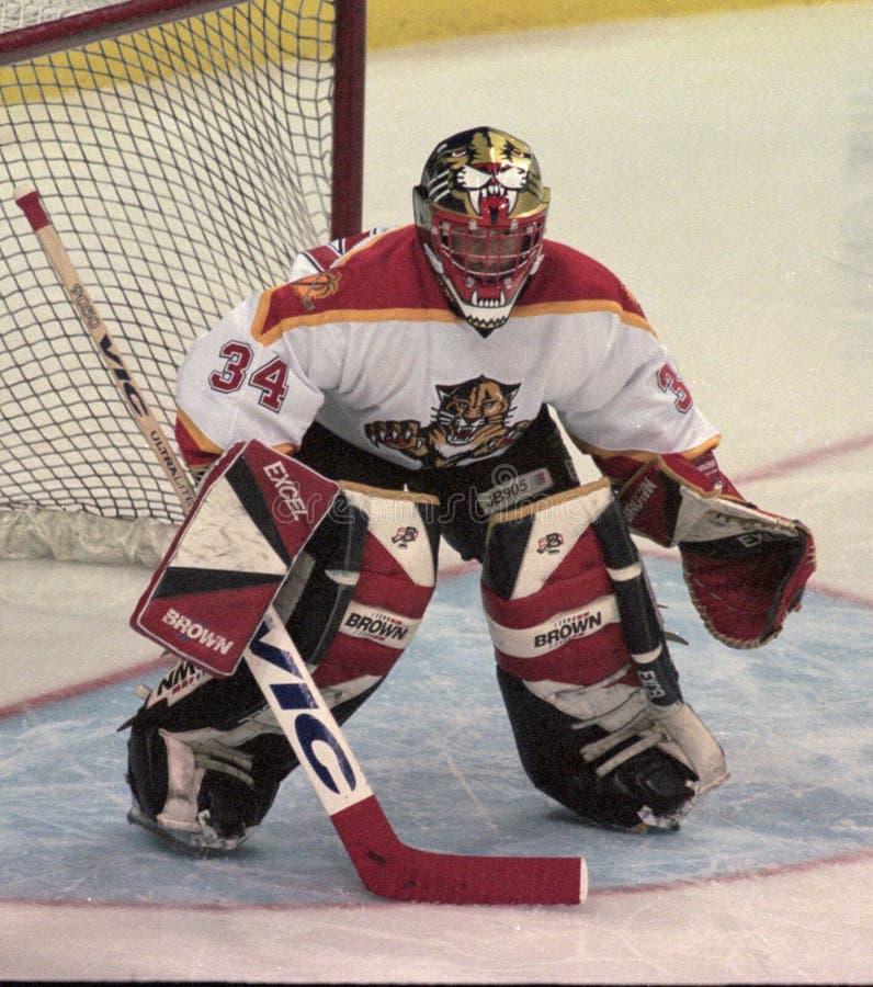Gardien de but John Vanbiesbrouck de NHL photo libre de droits