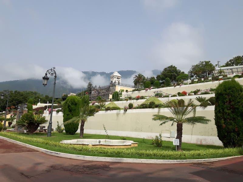 Gardin botánico Orotava Tenerife imagenes de archivo