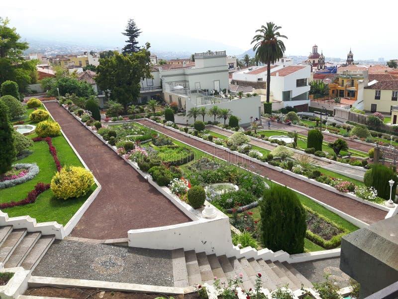 Gardin botánico Orotava Tenerife fotografía de archivo libre de regalías