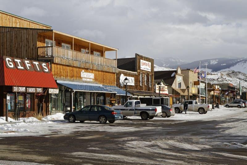 Gardiner Montana arkivbilder