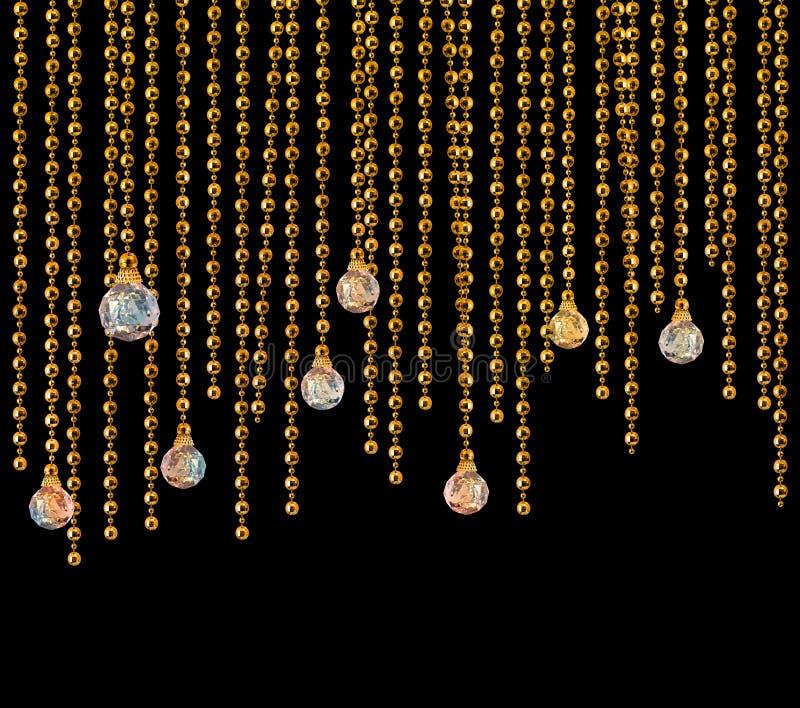gardinglamouren blänker fotografering för bildbyråer