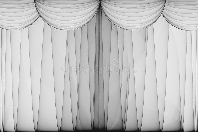 gardinteater vektor illustrationer